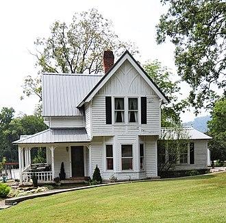 J. G. Hughes House - J G Hughes House, September 2012