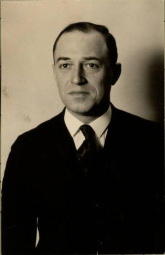 Liebenberg and Kaplan - Jack Liebenberg in 1925