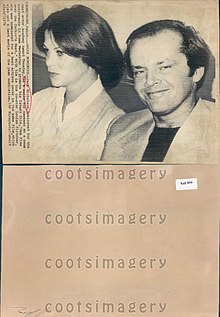 Jack Nicholson nel 1976
