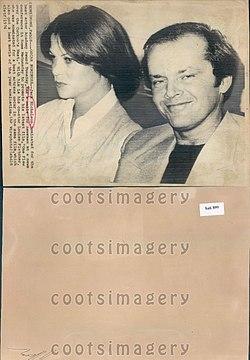 Jack Nicholson 1976.