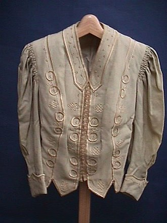 Beige - Unbleached silk jacket