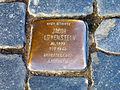 Jacob Löwenstein 1873-1940, Holocaust victim Arbeitslager Liebenau, Stolperstein Celle Zöllnerstraße 44.jpg