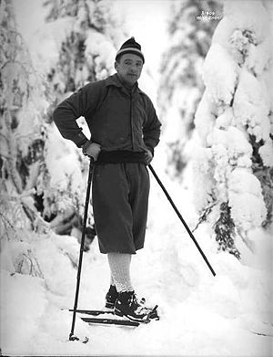 Ski jumping at the 1928 Winter Olympics - Reigning Olympic and world champion Jacob Tullin Thams