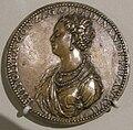 Jacopo da trezzo, medaglia di ippolita gonzaga, 1552.JPG