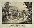 Jacques Cartier, his first interview with the Indians at Hochelaga now Montreal in 1535 LCCN2003664061.jpg