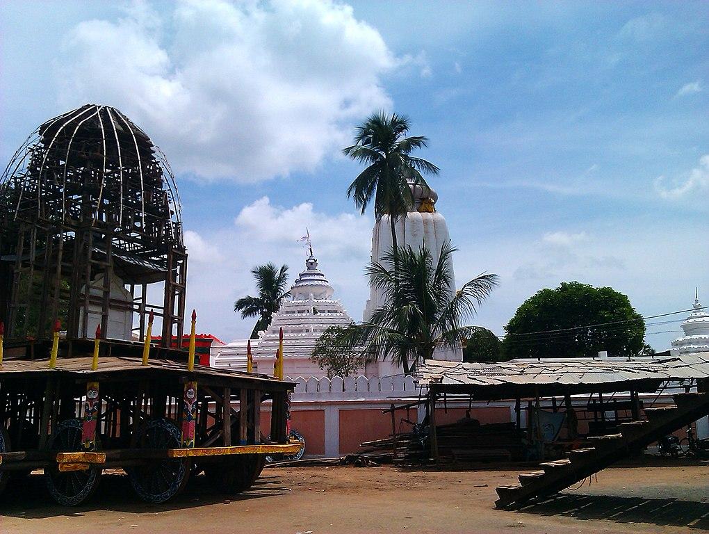 Baripada Jagannath Temple,side view