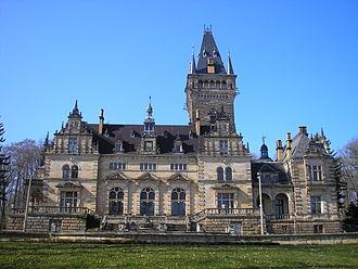 Ernst von Ihne - Image: Jagdschloss Hummelshain 1