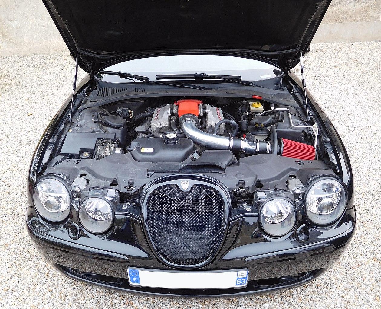 Px Jaguar S Type R C V Supercharged Engine