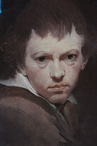 James Barry (painter) - James Barry, self-portrait, c.1775