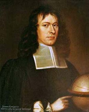 James Gregory (mathematician) - James Gregory (1638–1675)