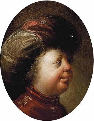 Jan van de Venne - Portrait of a gentleman with a turban