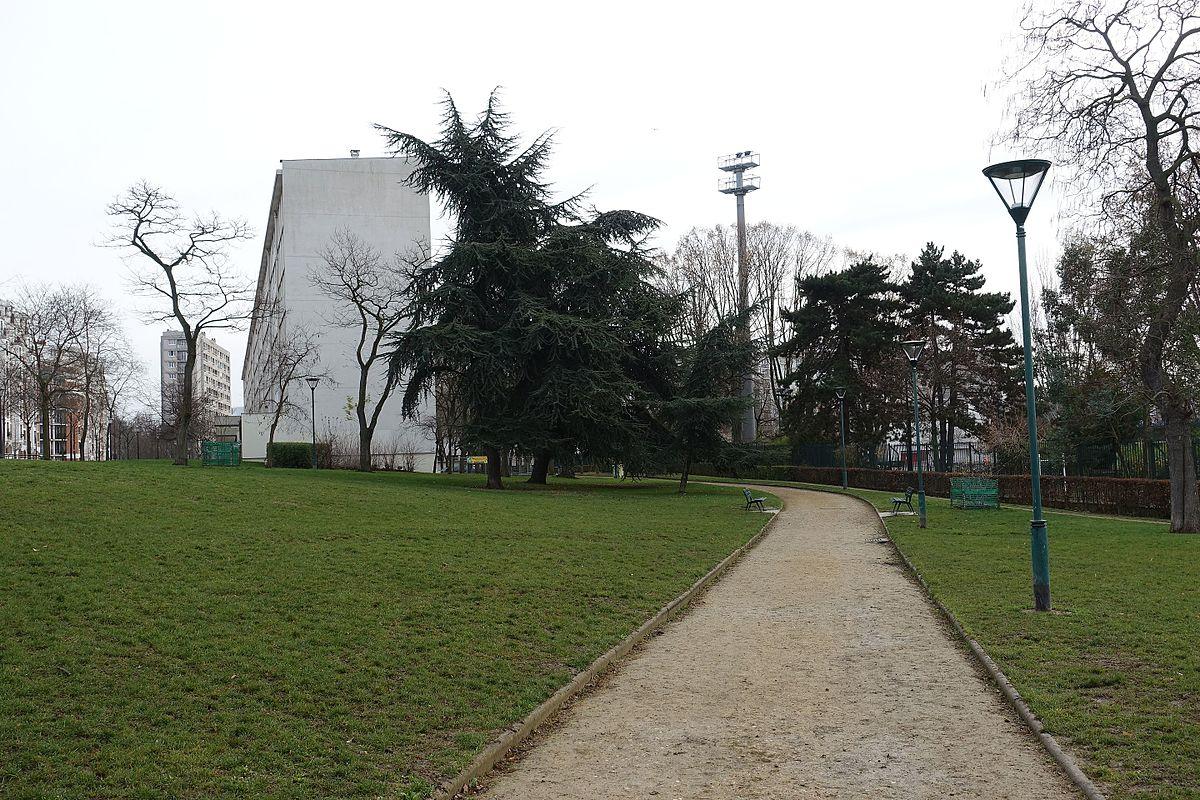 Jardin d 39 immeubles du square brancion wikidata for D jardin