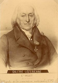Jean Pelet French politician
