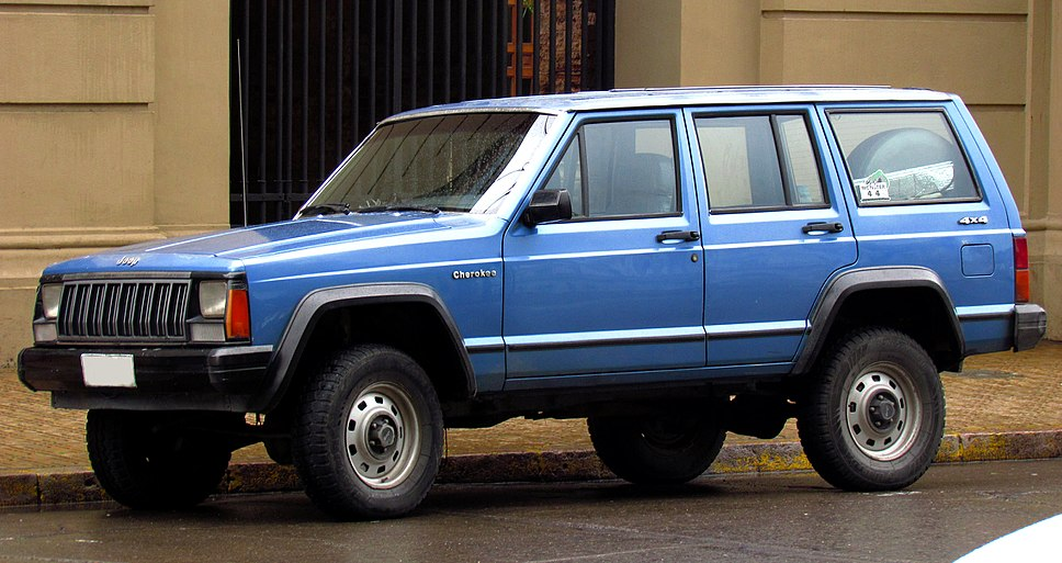 Jeep Cherokee 2.5 1988 (15289674633) (cropped)