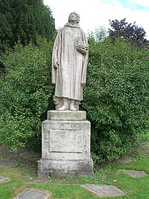 Jean de Chelles - Statue of Jehan de Chelles, Parc du souvenir, Chelles (Seine-et-Marne)