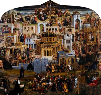 Jerusalem landscape with scenes from the Passion of Christ (1517).png