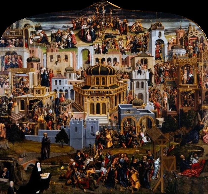 구약성경은 그리스도를 어떻게 증거하고 있을까 그리스도 수난 당시 예루살렘
