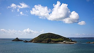 Jethou Island in Guernsey