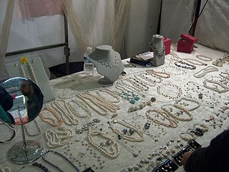Brick Lane Market - Handmade jewelry at the Sunday UpMarket