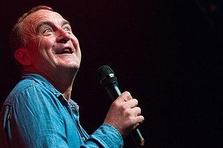 Jimeoin British-born Irish stand-up comedian and actor