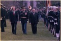 Jimmy Carter and Prime Minister Robert Muldoon inspect the troop during welcoming ceremony. - NARA - 176786.tif