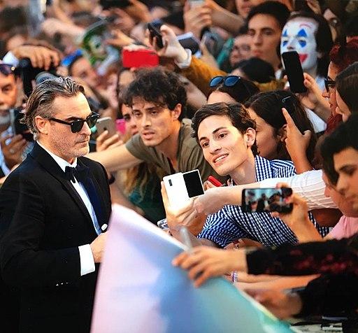 Joaquin Phoenix red carpet at 76. Venice Film Festival