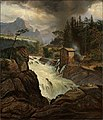 Johan Christian Dahl - The upper Falls of the Labrofoss - NG.M.01091 - National Museum of Art, Architecture and Design.jpg
