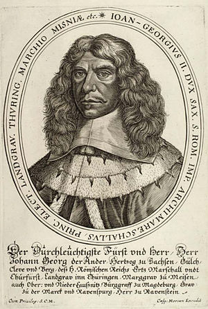 John George II, Elector of Saxony - John George II, picture from 1658.