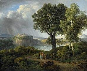 Arkadische Landschaft