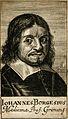 Johannes Borgesius. Line engraving, 1688. Wellcome V0000673.jpg