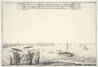 Ancol - The Slingerland, to the east bank of the Ancol River, was a popular beach resort of the 18th-century.