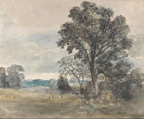 Landscape at East Bergholt