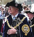 John Major in Garter procession.jpg