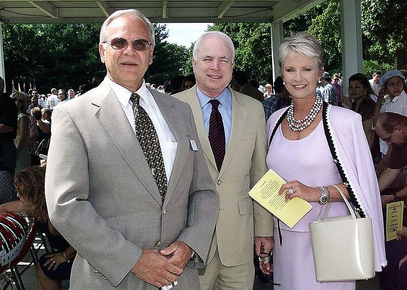 File:John McCain and Cindy Naval Sea Cadet Corps graduation 2001.jpg