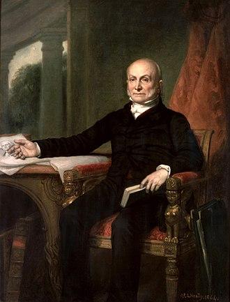 John Quincy Adams - John Quincy Adams, George Peter Alexander Healy, 1858