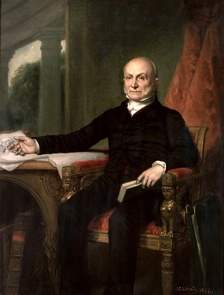 John Quincy Adams portrait. John Quincy Adams by GPA Healy, 1858.jpg