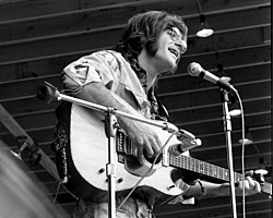 Sebastian performing in concert in East Lansing, Michigan, August 1970