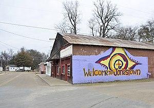 Jonestown, Coahoma County, Mississippi - Church Street in Jonestown