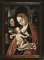 Joos van Cleve, studio - ateljee - ateljé (c. - n. -ca. 1485?−1540-41?)- The Holy Family - Pyhä perhe - Den heliga familjen (29387767741).jpg