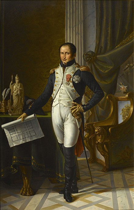 Portrait of Joseph Bonaparte, King of Naples, by Jean-Baptiste Wicar (1762 - 1834). Joseph Bonaparte (by Wicar).jpg