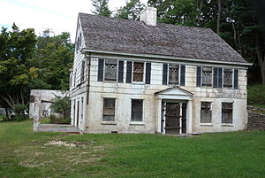 East Shoreham, New York - The Josiah Woodhull house, built in 1720, is the oldest house in the Shoreham area and is undergoing renovation as of 2014