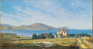 View of El Abra, Bilbao, from Algorta