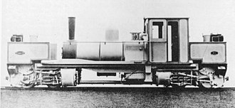 Garratt - A builder's photo of K1, the first Garratt locomotive