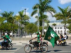 Kmanek Haburas Unidade Nasional Timor Oan - Image: KHUNTO Campaign Dili 2012