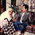 KH Achmad Shiddiq Jember bersama KH Chamim Jazuli (Gus Mik) dari Kediri.jpg