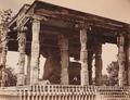 KITLV 92122 - Unknown - Nandi in Brihadishvara temple complex at Thanjavur in India - Around 1870.tif
