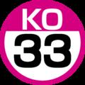 KO-33 station number.png