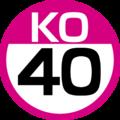 KO-40 station number.png