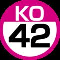 KO-42 station number.png