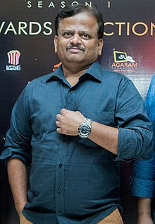 KV Anand at MovieBuff First Clap Awards Function (cropped).jpg